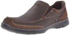 Dockers Men's Suitland Slip-On Loafer, Dark Brown, 10.5 M…