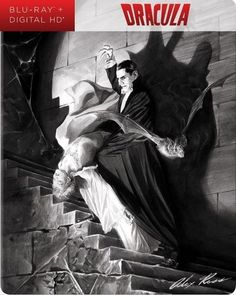 Dracula [Blu-ray] [SteelBook] [Only @ Best Buy] [1931] - Front_Standard