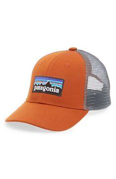 8dd21afb23b PATAGONIA  PG - LO PRO  TRUCKER HAT - ORANGE.  patagonia