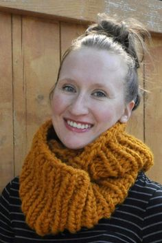 Two-Hour Cowl by Lauren Dahl | Project | Knitting / Accessories | Scarves, Shawls, & Cowls | Kollabora #diy #kollabora #knitting #scarves