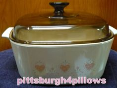 Corning - Forever Yours W/ Lid  - 5 Liter - A 5 B - EUC - No Damage - Great Shape by pittsburgh4pillows on Etsy
