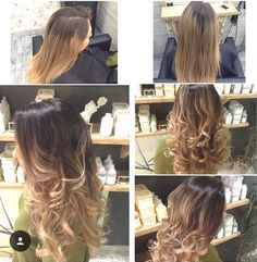 A colour correction to fix an at-home ombre with a lovely Flamboyage, by Charlene. Book online @ www.sdhair.co.uk, or call the salon on 01179 502 402.
