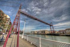 Puente Bizkaia (Las Arenas, Getxo). J.P. Photography