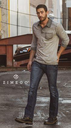 ZIMEGO Mens Long Sleeve Vintage Garment Color Wash Lightweight Pullover Hoodie