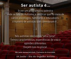 PEA, TEA, Espectro Autista, Palestra Autism