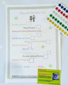 Wedding Favour I Spy Activity Pack