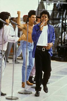 Michael Jackson BAD World Tour 1987 Rehearsal in Tokyo, Japan for the first show