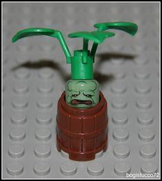 Lego Harry Potter x1 Sand Green Mandrake Plant ★ Pot Barrel 5378 Minifigure New | eBay                                                                                                                                                                                 Más