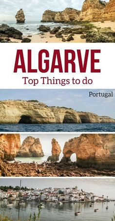 Discover the magnificent region of the Algarve Portugal - Map, Best beaches, top things to do, destinations, accommodations... With Photos and video! | Portugal Algarve | Algarve Beach | Portugal things to do