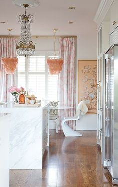 girly glam kitchen