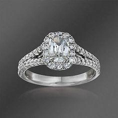 Ross-Simons - Henri Daussi 1.47 ct. t.w. Diamond Engagement Ring in Platinum - #819929