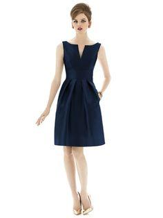 Alfred Sung D654 Bridesmaid Dress | Weddington Way $196.  But not this color