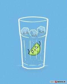 Hình minh họa vui   Tranh minh họa cực thú vị và hài hước của Aaron Jay