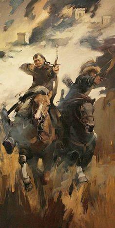 Mongol horse archers