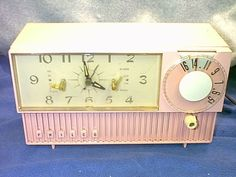 pink vintage philco radio by sea_gull28