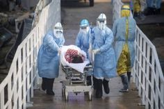 (AFP) Doctors on the frontline of China's new coronavirus epidemic are facing a daunting task: treat an ever-growing number of infected pa. Merida, Red Cross Society, Chinese Social Media, Fruit Company, Lung Infection, Plumbing Emergency, National Health, China, Recherche Google