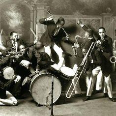 St. Louis Cotton Club Band, 1925.