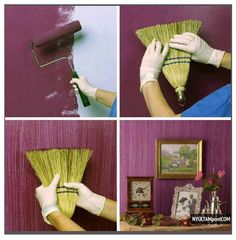 Creative wall paint