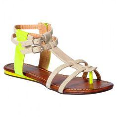 Neon Sandals $11.99
