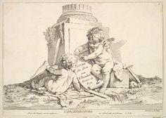 Louis Félix de La Rue (French, Paris 1731–1765 Paris) ; After François Boucher (French, Paris 1703–1770 Paris) - Etching.