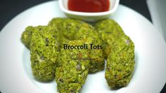 A simple and healthy finger food for snacking, for lunch boxes and for kids. Tips if you are a vegetarian or a vegan use some plain flour to combine them tog. How To Make Broccoli, Healthy Finger Foods, Guacamole, Lunch Box, Corner, Vegetarian, Herbs, Snacks, Make It Yourself