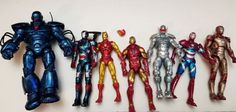 Marvel Legends Iron Man Iron Monger Series BAF Wave Complete Set Lot Loose #MarvelLegends#IronMan #IronMonger #BuildaFigure #Actionfigures #Toys