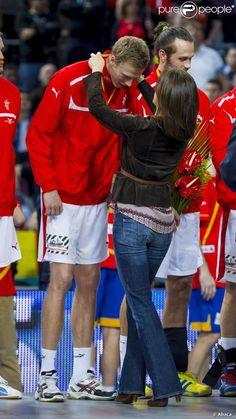 Crown Princess Mary in Barcelona at the Men's Handball World Championships