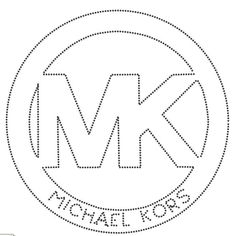 michael kors – Pastry World 3d Templates, Stencil Templates, Stencils, Chanel Decor, Silhouette Cameo Projects, Craft Patterns, String Art, Diy Art, Decorating Tips