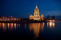 """On the 28th of April in the building of the hotel """"Ukraina"""", was opened a new modern hotel-Radisson Royal Hotel, Moscow, - which combined a unique spirit of architectural ensemble of the Stalin's epoque with the best traditions of service, high-tech innovations of comfort sphere."""