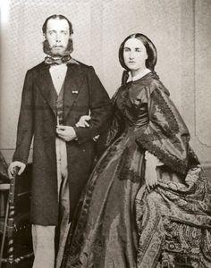 Ferdinand Maximilian Joseph & Charlotte 1860