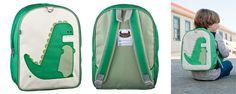 Beatrix NY Little Kid Backpack - Percival Dino - UrbanBaby