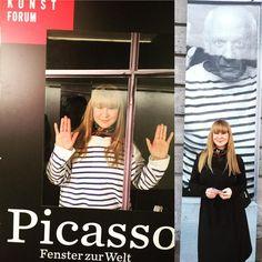 via Instagram xushamusic: Picasso in Hamburg - Fenster zur Welt... #hamburg #fensterzurwelt #picasso #art #instagood #window #hafen #harbourcity #beautiful #girl #beautifulday #picoftheday #bestoftheday #happy #smile #welovehh