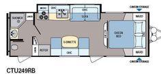 Floorplan - 2013 Dutchmen RV Coleman Explorer CTU249RB