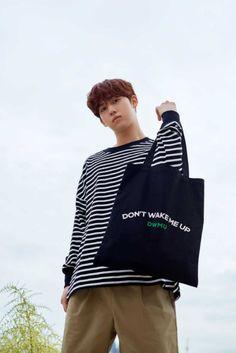Seong, Drawstring Backpack, My Girl, Gym Bag, Reusable Tote Bags, Instagram, Kpop, Drawstring Backpack Tutorial