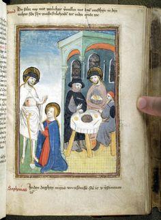 Spiegel van den leven ons Heren and other works | Netherlands, Brabant | ca. 1455 | The Morgan Library & Museum