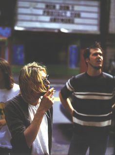 Kurt Cobain / Nirvana.