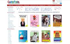 The 19 Top Birthday E-Cards and Sites for 2021 Meme Birthday Card, Birthday Card Pictures, Happy Birthday Ecard, Happy Birthday Greeting Card, Greeting Card Maker, Online Greeting Cards, Electronic Birthday Cards, Christmas Card Verses, Popular Birthdays