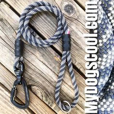 Climbing Rope Dog Leashes Handmade in USA for the Big Dogs.