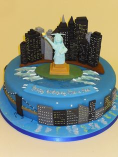 The Big Apple! #NewYork #Cake