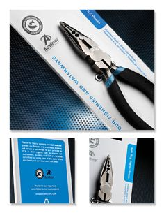 tools packaging design black silver - Google Search