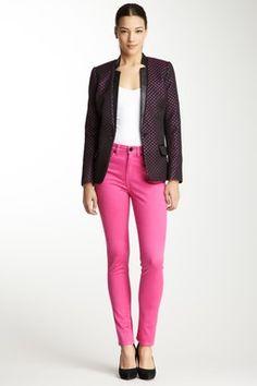 Garment Dyed Skinny Jean