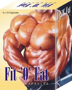 2 X Fit-O-Fat - 50 Capsule / Pack - Weight Muscle Gain - Fresh Stock - Fast Ship #FitOFat