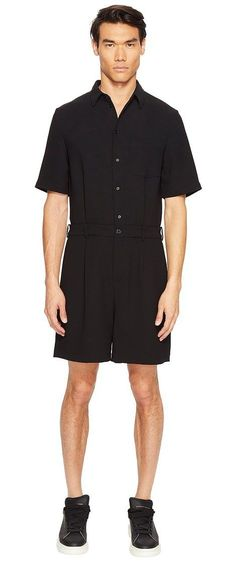 2ebb4d2193d4 McQ MCQ Jumpsuit (Darkest Black) Men s Jumpsuit  amp  Rompers One Piece -  McQ