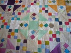 THE QUILTED PINEAPPLE: Oh My Gosh...Omigosh...Quilt