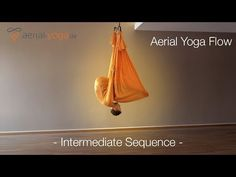 Aerial Yoga Flow - Intermediate Sequence - Jost Blomeyer - YouTube