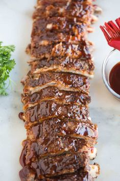 Tender, flavorful, and delicious Instant Pot Ribs, cooked in just about 30 minutes! A great, easy meal made with your pressure cooker.