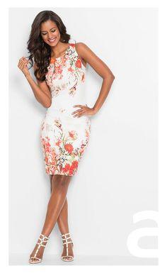stylizacja elegancka, ciekawa stylizacja, moda damska, sukienka w kwiaty Venus, Formal Dresses, Girls, Fashion, Dresses For Formal, Toddler Girls, Moda, Formal Gowns, Daughters