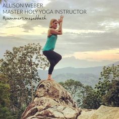 My name is Allison Weber and I am the retreat coordinator for Holy Yoga. Sabbath for me is about delight - both delighting and being delighted in. Believing that God delights in me does not come naturally. So during Sabbath, I set an intention to delight in God, his creation, and my people, but I also make a practice of soaking in my Father's delight in me as I rest. #holyyoga #yogateachertraining #yogateachers #christianyoga #yogateachersgospelpreachers #summertimesabbath #summer #glory…