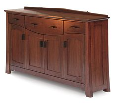 Walnut and White Oak Sideboard - Reader's Gallery - Fine Woodworking