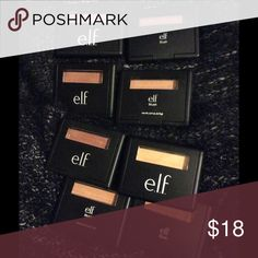 Elf blush lot Mellow Mauve, Fuchsia Fusion, Giddy Gold, Candid Coral, Peachy Keen, Tickled Pink, Twinkle Pink, Berry Merry, Blushing Rose (only 8 pictured but there are 9 total)  Downsizing my collection so I will only sell as a bundle. Makeup Blush